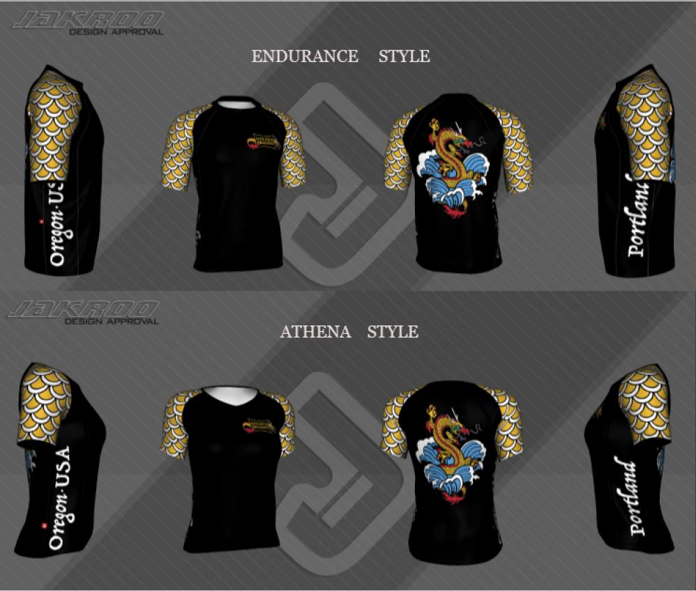 sample team shirts